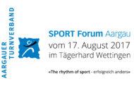 SPORT FORUM Aargau 2017